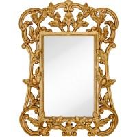 Majestic Mirror Oversized Traditional Rectangular Gold ...