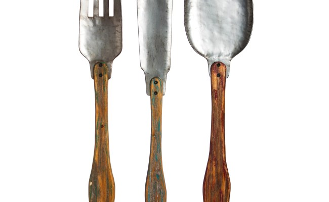 Evergreen Enterprises Inc 3 Piece Knife Fork And Spoon