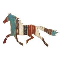 Evergreen Enterprises, Inc Plank Horse Wall Dcor ...