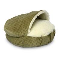 Snoozer Cozy Cave Luxury Orthopedic Hooded Dog Bed | Wayfair