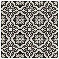 "EliteTile Lima 7.75"" x 7.75"" Ceramic Field Tile in Classic"