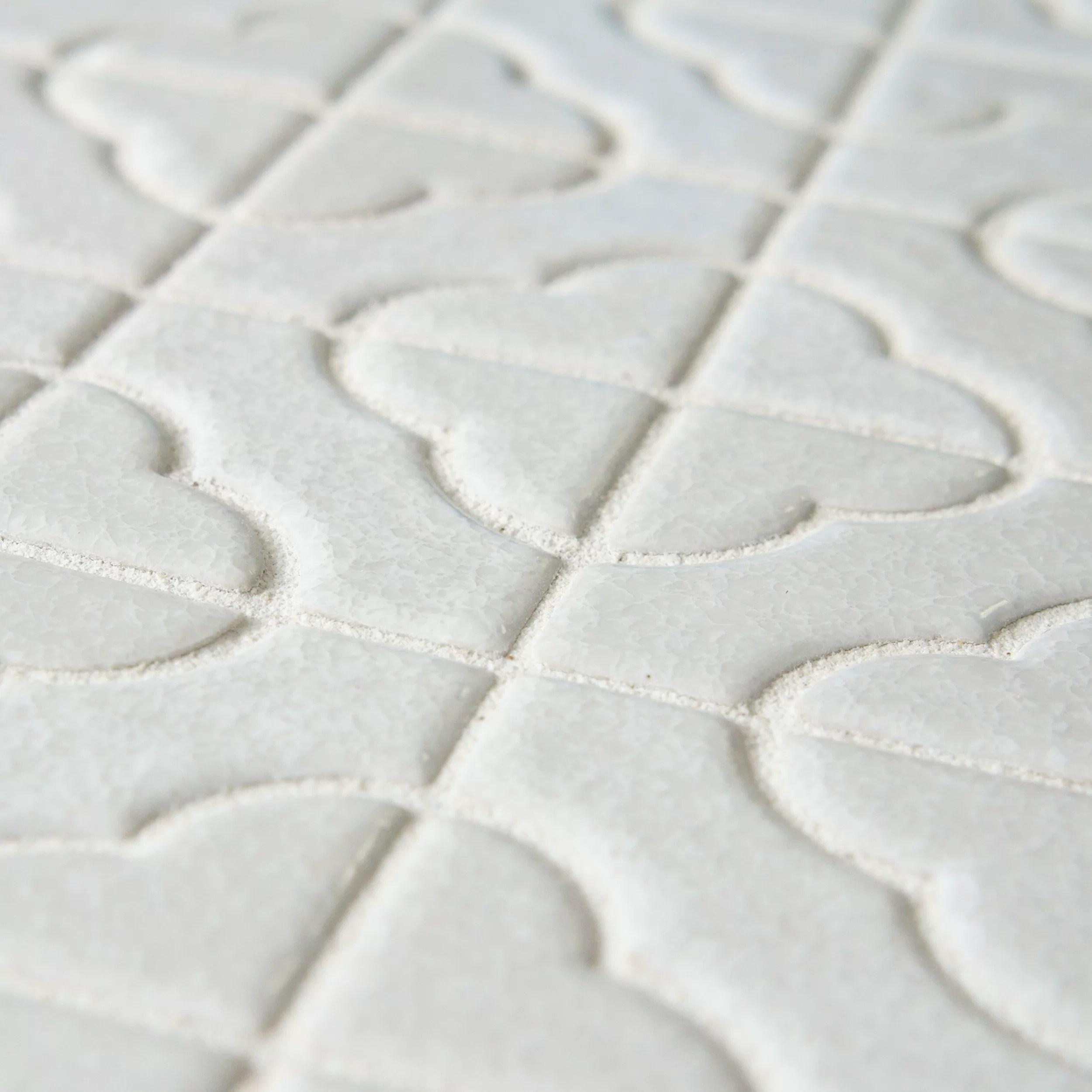 EliteTile Castle Random Sized Porcelain Mosaic Tile in