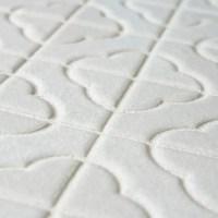 EliteTile Castle Random Sized Porcelain Mosaic Tile in ...