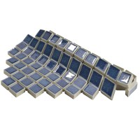 "EliteTile Interval 1"" x 2"" Ceramic Mosaic Wall Tile in ..."