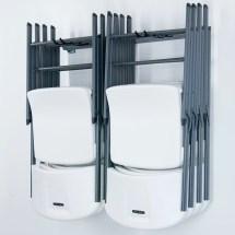 Monkey Bar Small Folding Chair Rack &