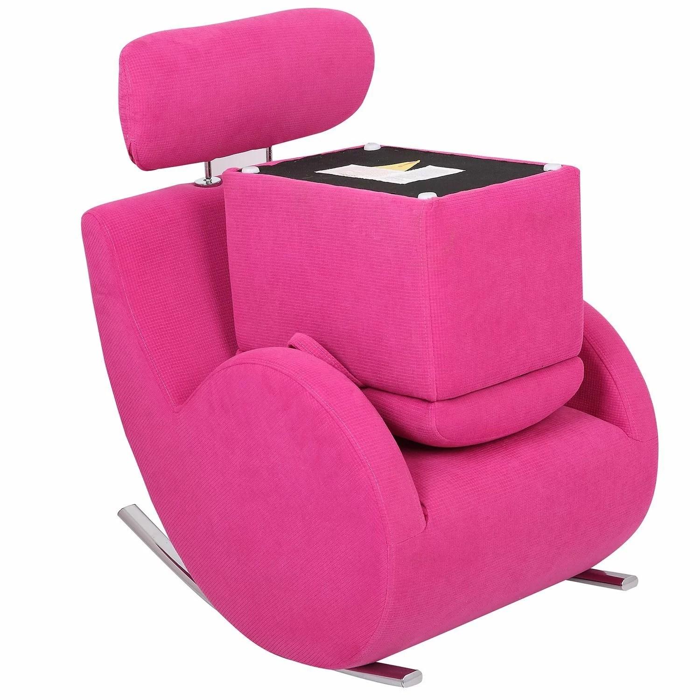 kids chair and ottoman cool chairs for teenagers merax fabric rocking storage wayfair
