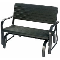 Merax Patio Garden Glider Bench & Reviews