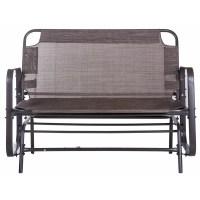 Merax Outdoor Garden Glider Bench | Wayfair