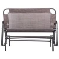 Merax Outdoor Garden Glider Bench | Wayfair.ca