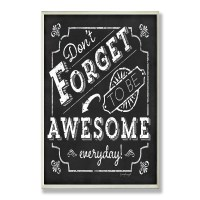 Stupell Industries Be Awesome Everyday Inspirational ...