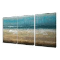 Stupell Industries Twilight Coast 3 Piece Framed Painting ...