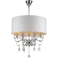 Warehouse of Tiffany 6 Light Drum Chandelier & Reviews ...