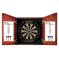 Accudart Union Jack Dartboard Cabinet Set & Reviews