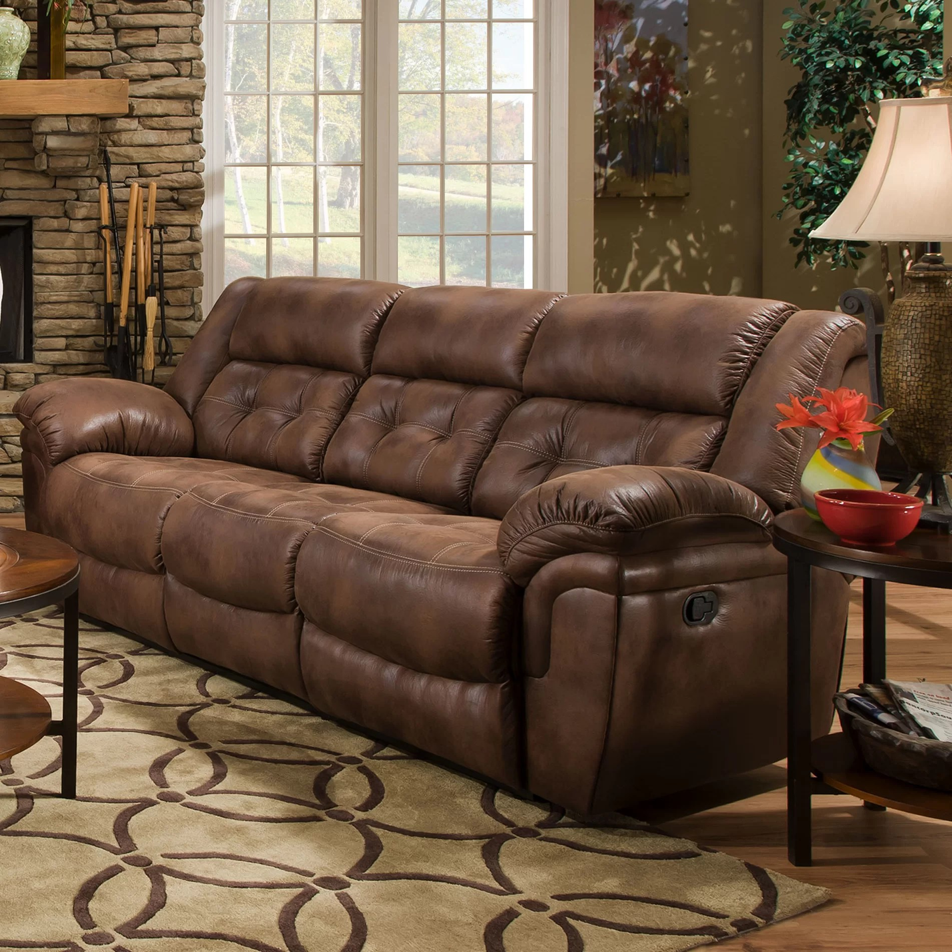 simmons beautyrest motion sofa reviews sleeper sofas for travel trailers upholstery wisconsin