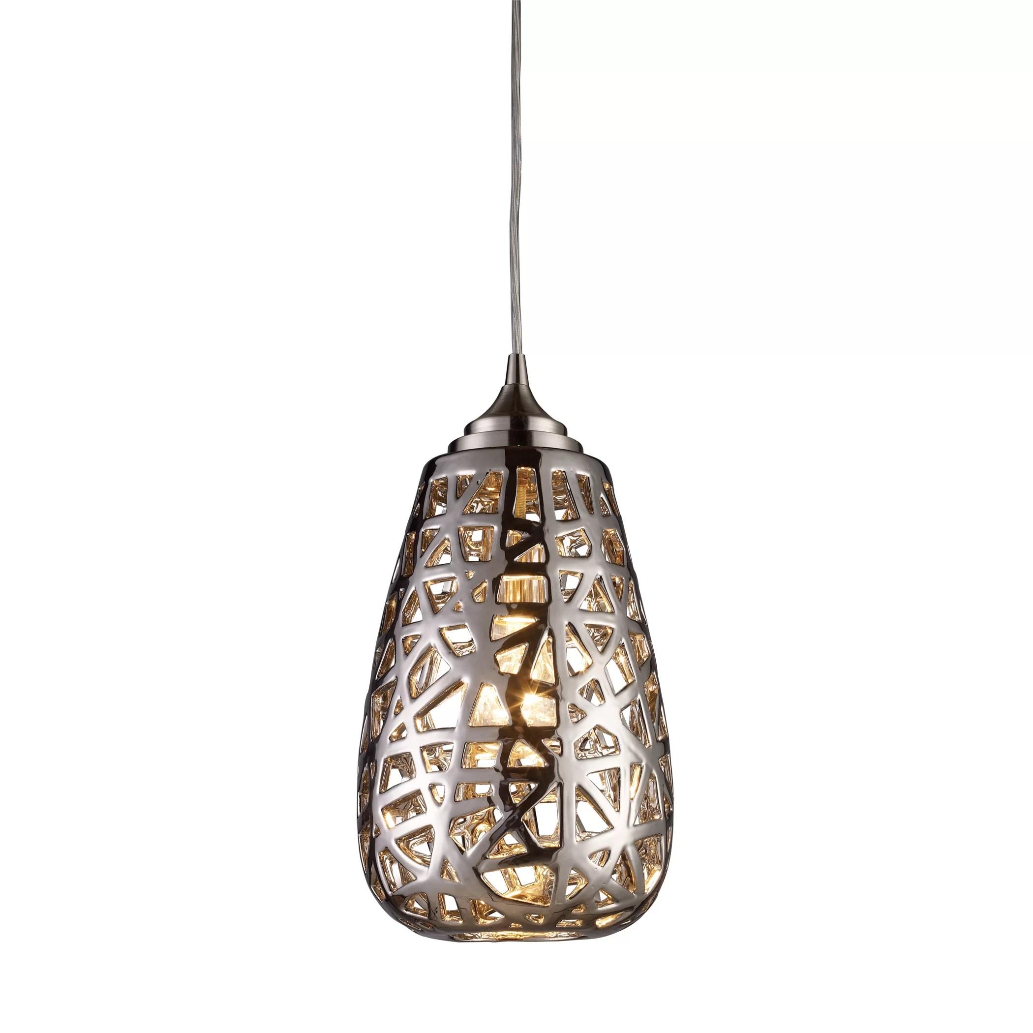 Elk Lighting Nestor 1 Light Pendant & Reviews