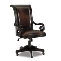 Hooker Furniture Telluride Leather Tilt Swivel Chair ...