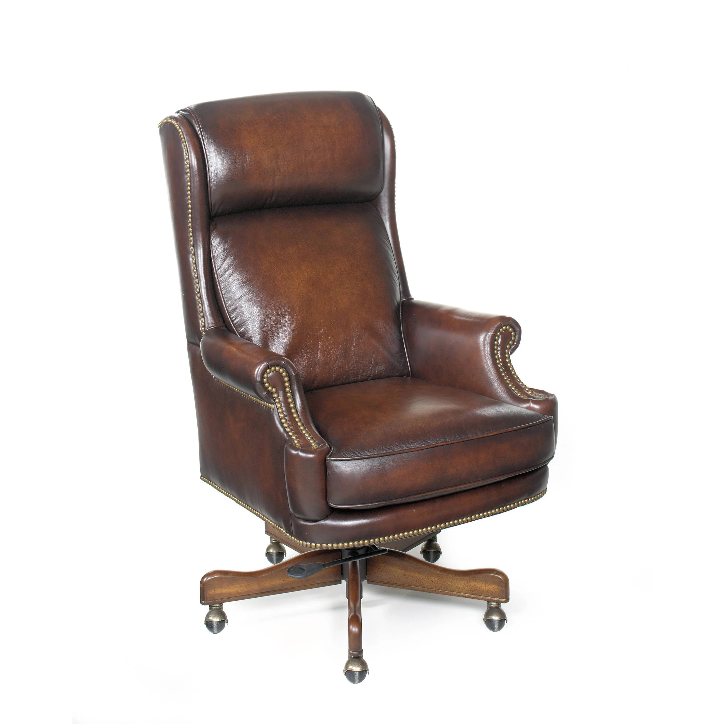 Hooker Leather Chair Hooker Furniture James River Leather Executive Chair Wayfair