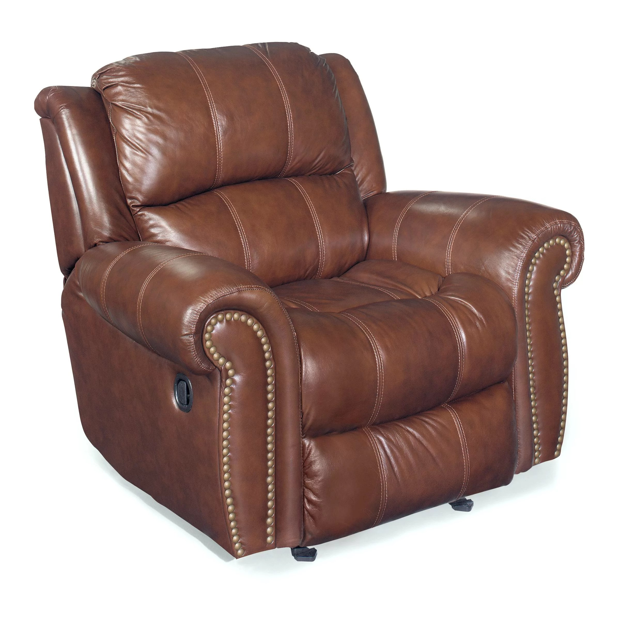 Hooker Furniture Glider Leather Recliner Chair & Reviews
