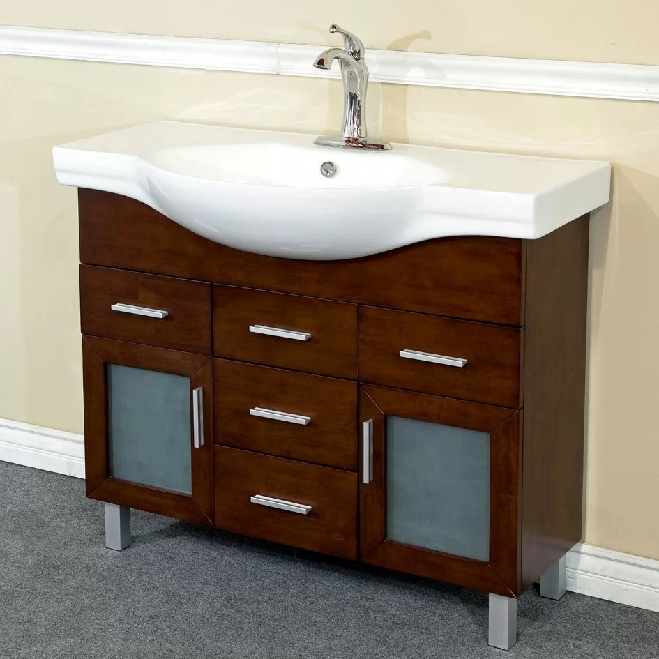 Bellaterra Home 40 Single Bathroom Vanity Set  Reviews