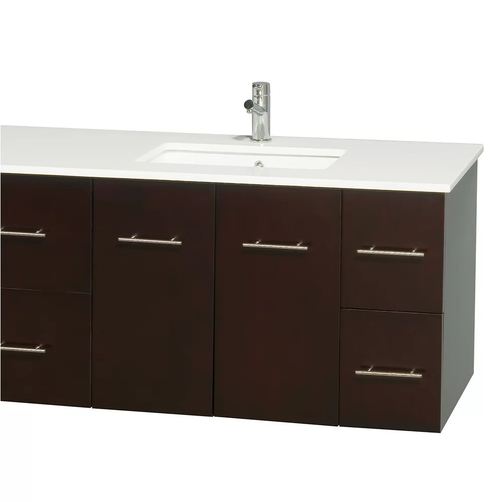 Wyndham Collection Centra 80 Double Bathroom Vanity Base