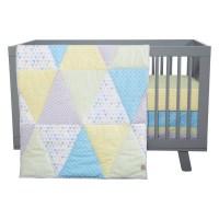 Trend Lab Triangles 3 Piece Crib Bedding Set | Wayfair.ca