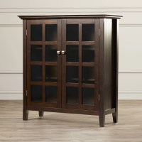 Simpli Home Acadian Accent Storage Cabinet & Reviews ...