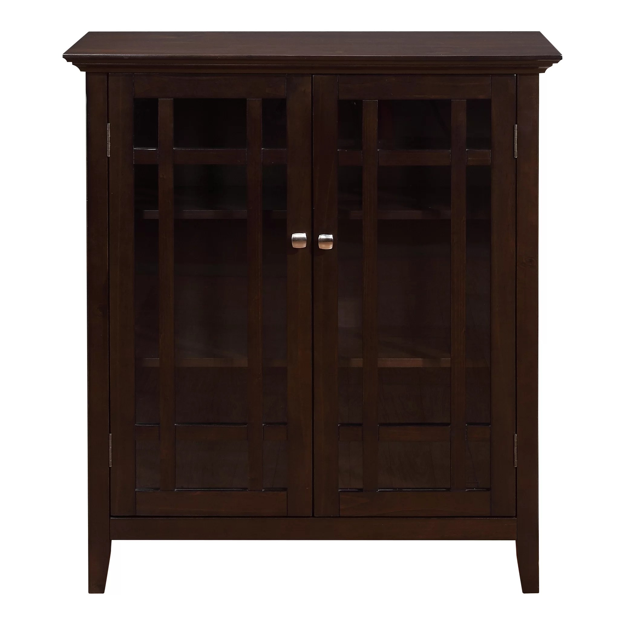Simpli Home Bedford Accent Cabinet  Reviews  Wayfair