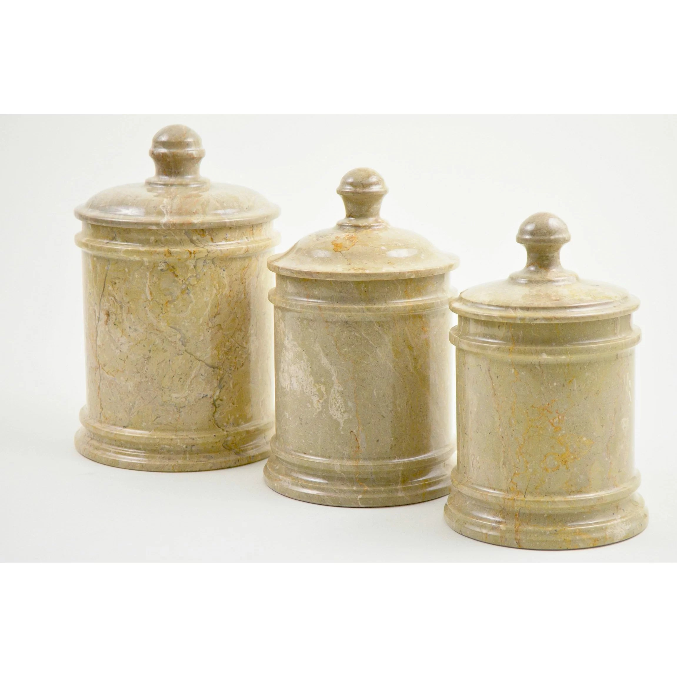 Nature Home Decor Sahara Marble Kitchen Canister  Reviews