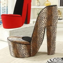 Cheetah Print Heel Chair Office Clipart Williams Import Co Leopard High And Reviews
