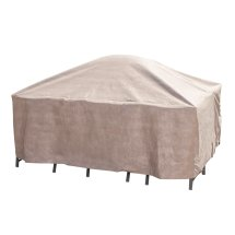 Duck Covers Elite Square Patio Table & Chair Set Cover