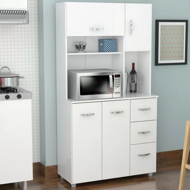 Kitchen Tabletop Storage Organization White Food