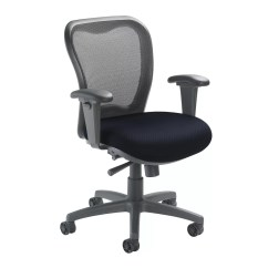 Mid Back Mesh Chair Fix Sinking Office Nightingale Chairs Lxo Desk Wayfair