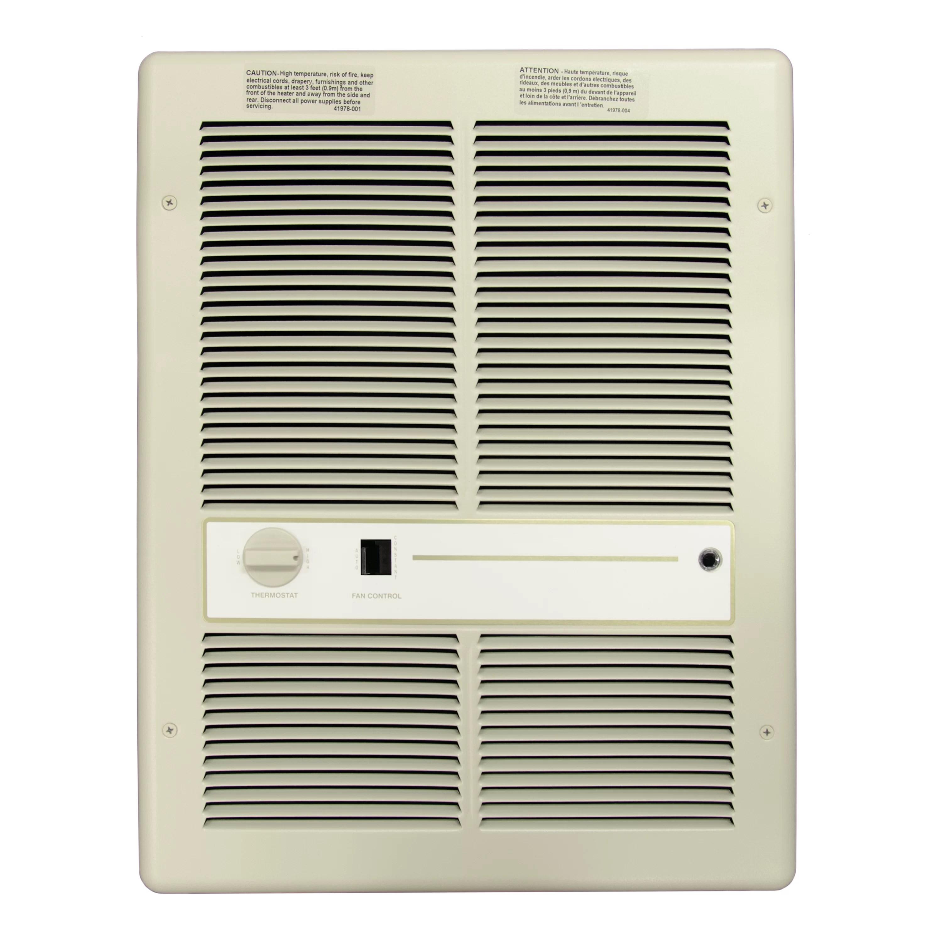 electric fan heaters jeep cj headlight wiring diagram tpi 4 000 watt wall insert heater with summer