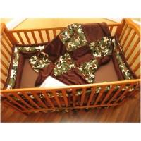 Ozark Mountain Kids Camo 4 Piece Crib Bedding Set   Wayfair
