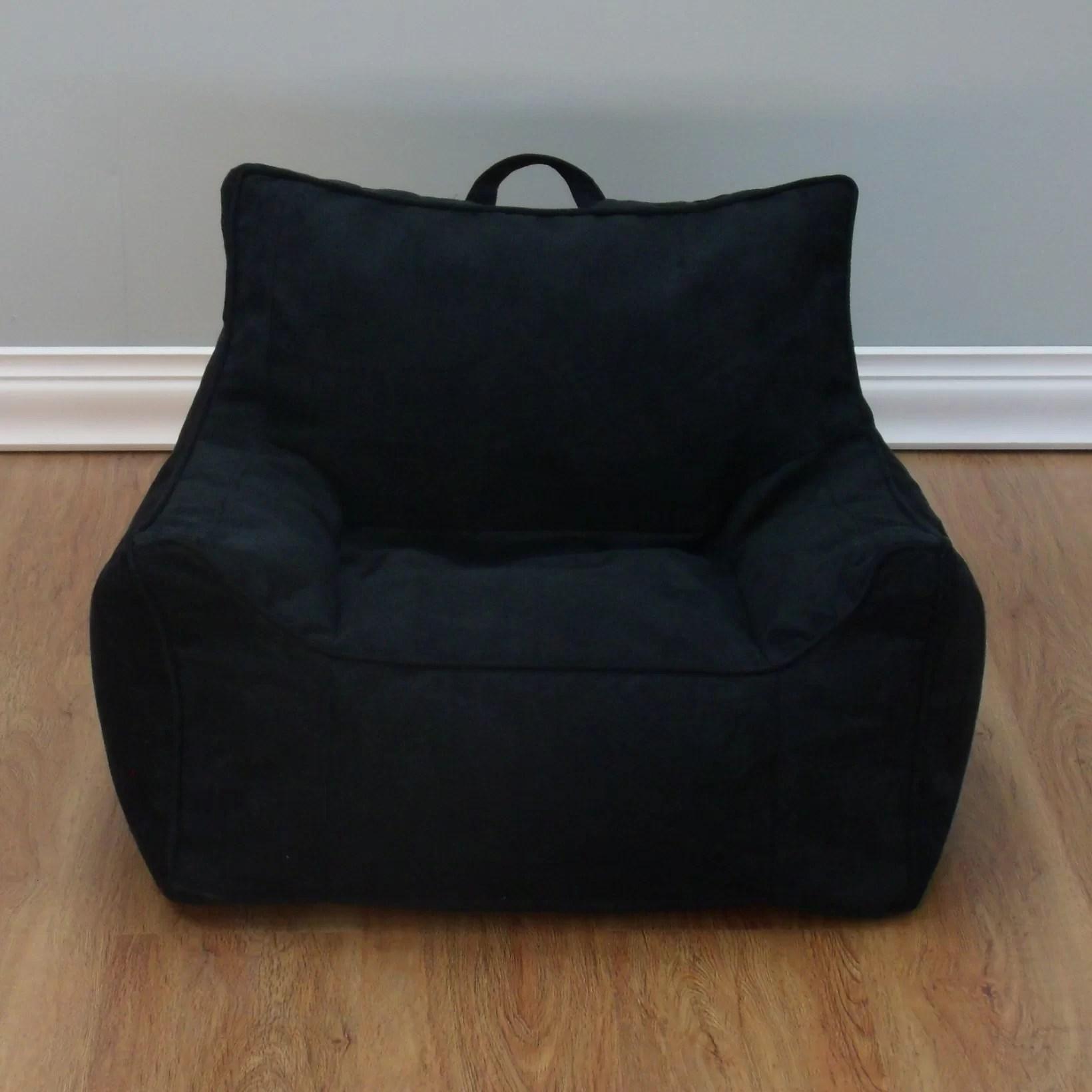 rocking bag chair chairs and ottomans x rocker bean wayfair