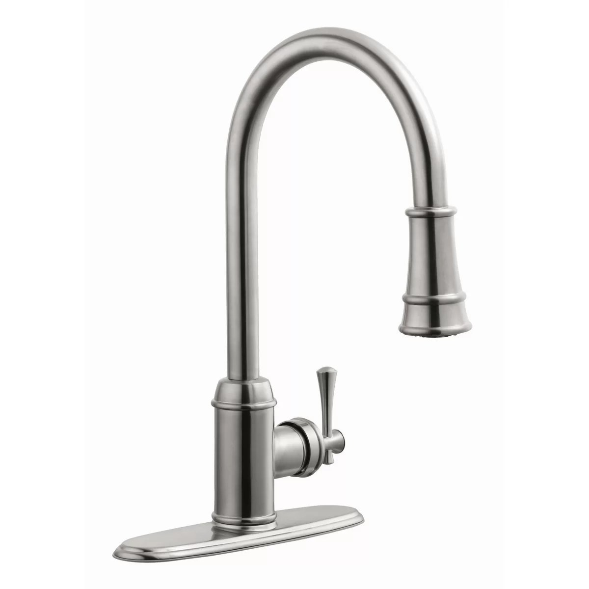 single handle kitchen faucet with sprayer planning guide design house ironwood