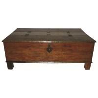 MOTI Furniture Box Trunk Coffee Table & Reviews | Wayfair