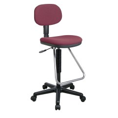 Adjustable Drafting Chair Metal Kitchen Chairs Office Star Height With Footrest