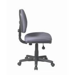 Ergonomic Chair Without Arms Kitchen Design Office Star Sculptured Low Back Task