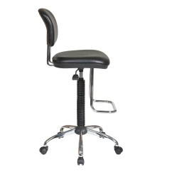 Adjustable Drafting Chair Chairs For Teens Office Star Height With Footrest