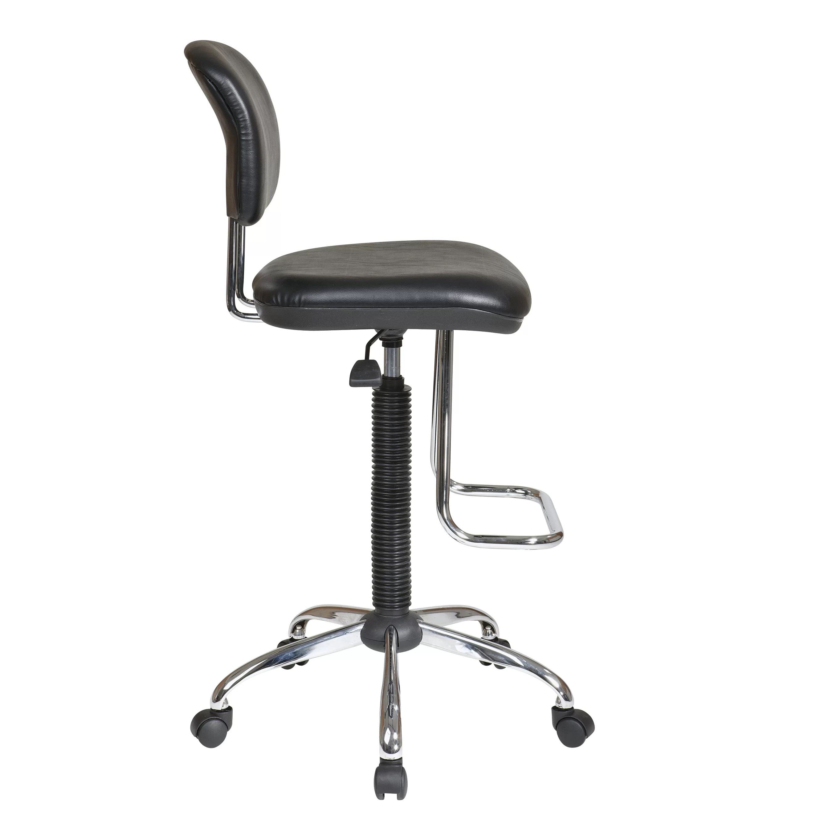 Adjustable Drafting Chair Office Star Height Adjustable Drafting Chair With Footrest