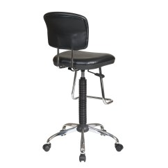 Adjustable Drafting Chair Dutch Design Office Star Height With Footrest