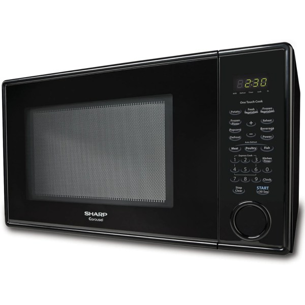Sharp 1.1 Cu. Ft. 1000w Countertop Microwave &