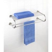 Wenko Fastro Wall Mounted Towel Rack & Reviews | Wayfair UK
