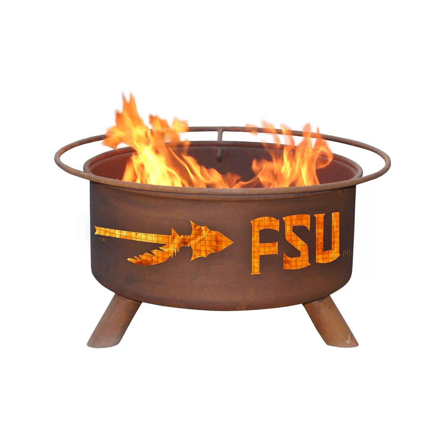 Patina Products Collegiate Fire Pit Reviews Wayfair