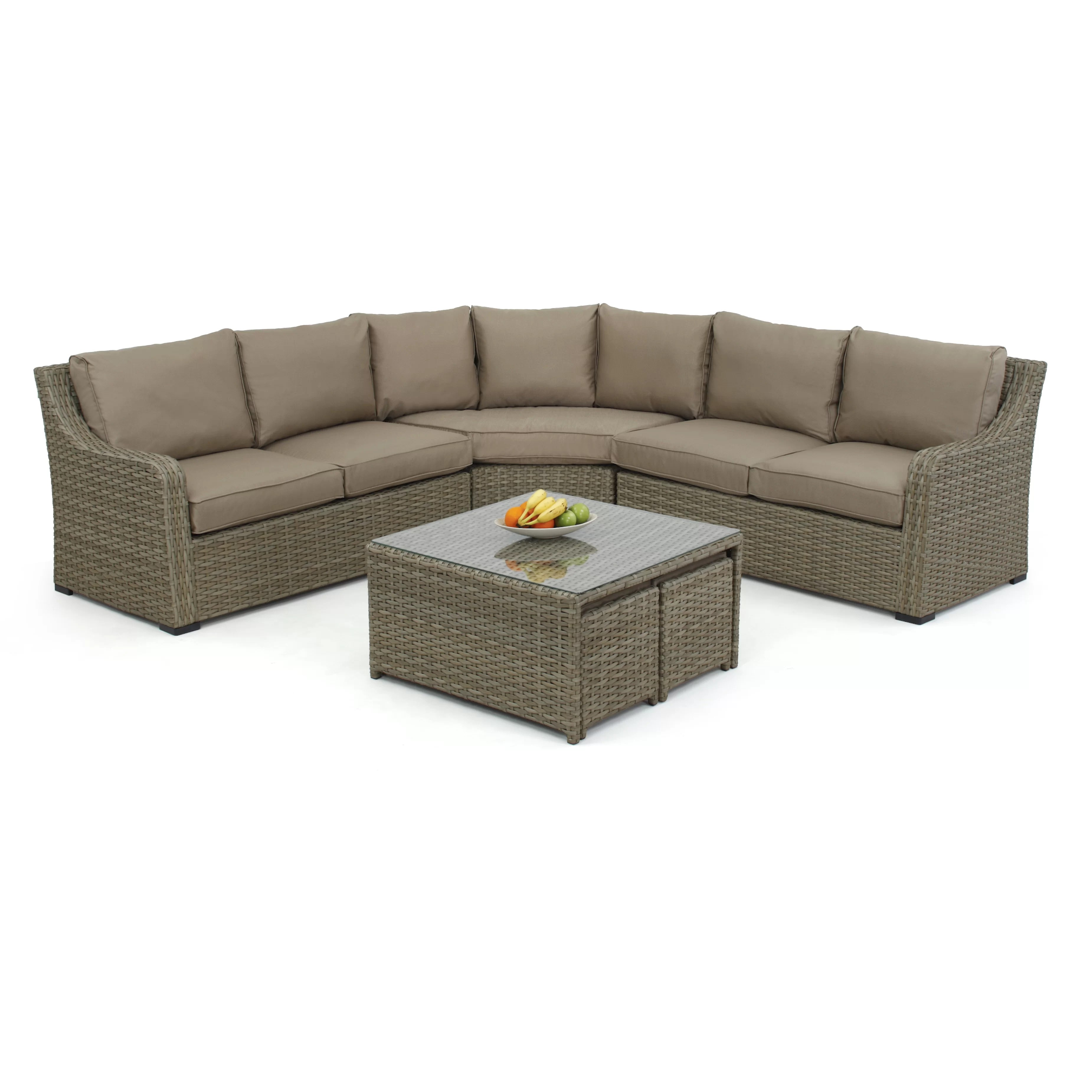 cushion sofa set latex foam cushions for sofas maze rattan milan 7 seater sectional with
