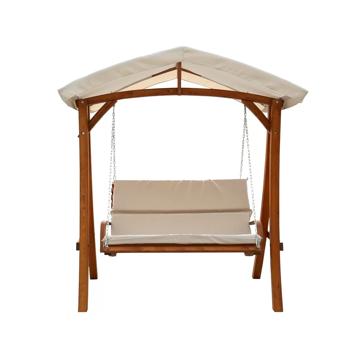 swing chair wayfair bedroom gumtree glasgow leisure season porch with canopy and reviews