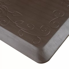Kitchen Comfort Floor Mats How To Paint Your Cabinets Cook N Home Premium Mat And Reviews