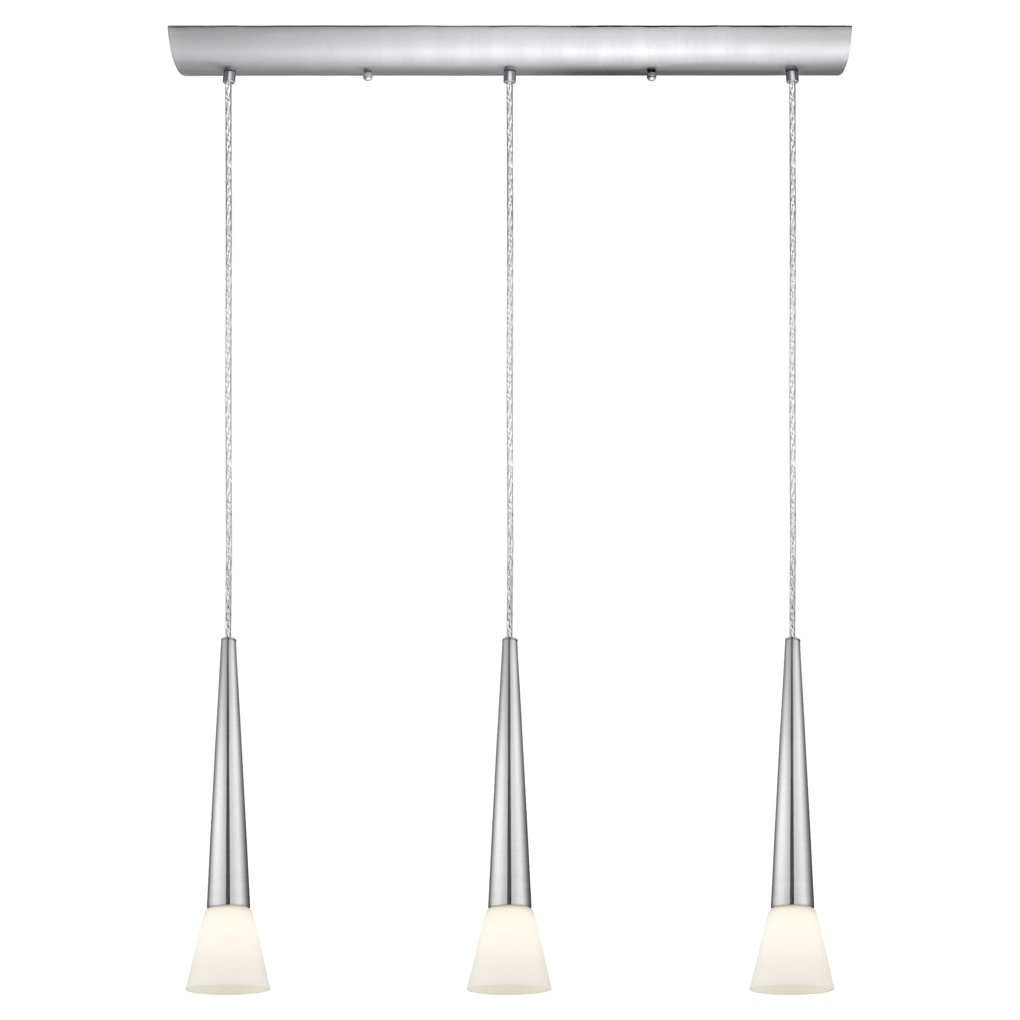 3 light kitchen island pendant stainless cabinets eglo legnano and reviews