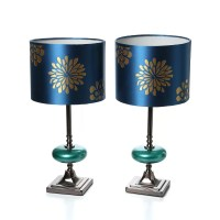 "Aspire Braxton 19"" Table Lamps (Set of 2) & Reviews 
